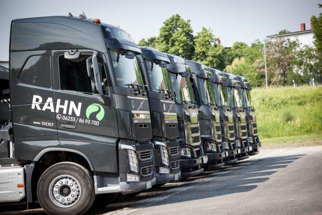 Volvo FH 500, Scania XT, RAHN GmbH